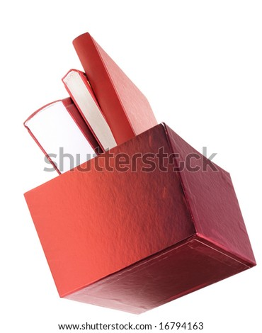 box books - stock photo