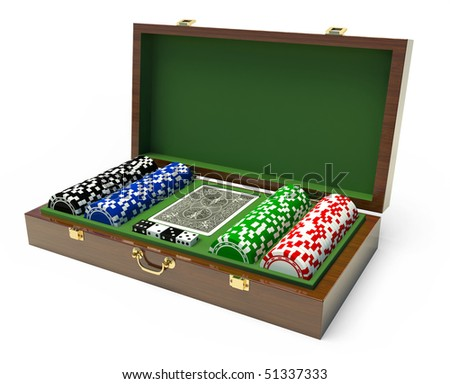 Box for a gambling chips