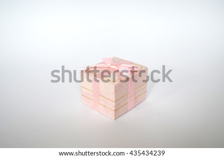 Box for jewelry - stock photo