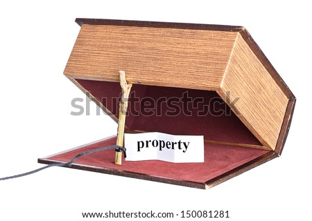 box is installed in the form of the trap. - stock photo