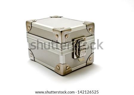 Box metal - stock photo