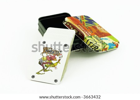box of cards