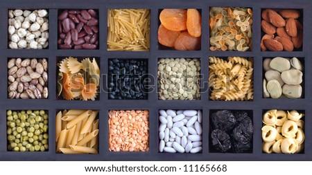 Box of food - stock photo