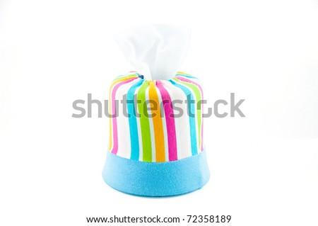 Box of tissues - stock photo