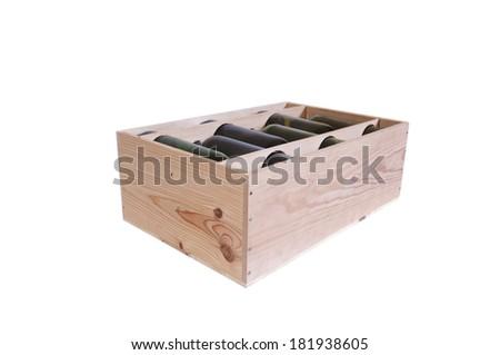 Box of Wine - stock photo