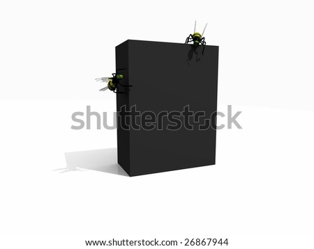 box with bee's