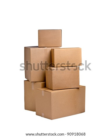 boxes - stock photo