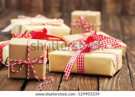 boxes for present