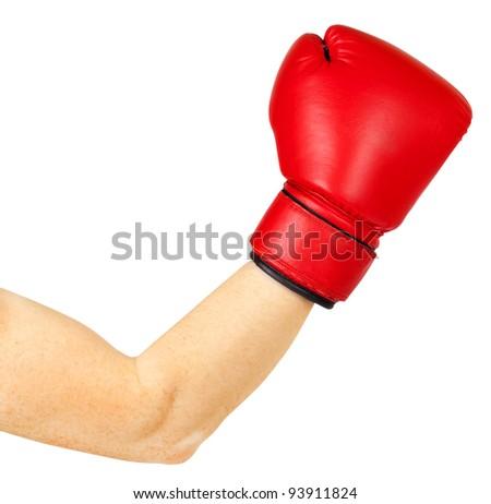 boxing - stock photo