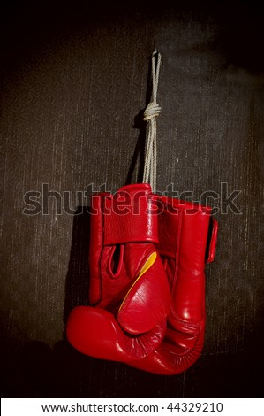 boxing-glove - stock photo