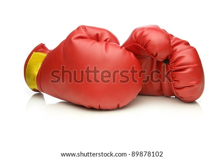 Boxing Gloves - stock photo