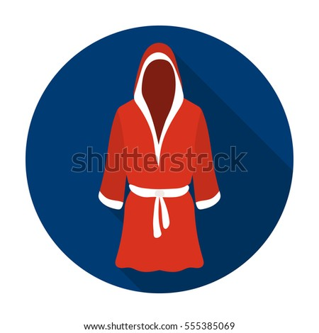 Boxer Fighter Robe Boxing Robe Stock Imag...