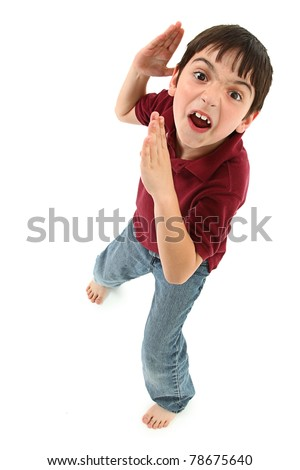Boy child. - stock photo
