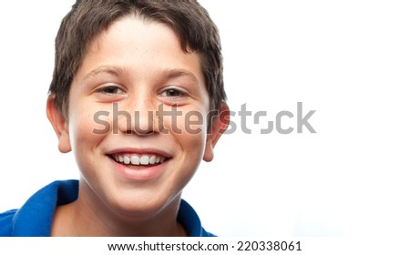 boy happy - stock photo