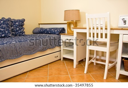 Boy room interior