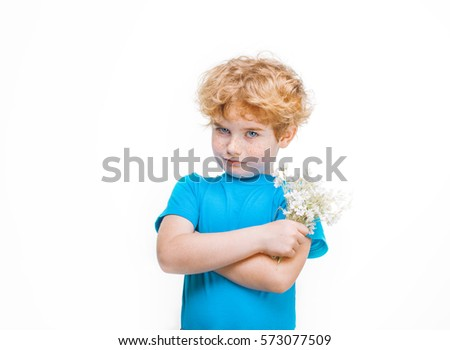 Son Bouquet Flowers Giving Stock Images, Royalty-Free ...