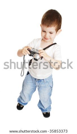 boy with the camera
