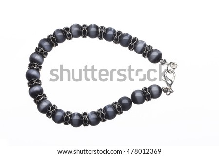Bracelet isolated on pure white background