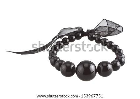 Bracelet isolated on white background - stock photo