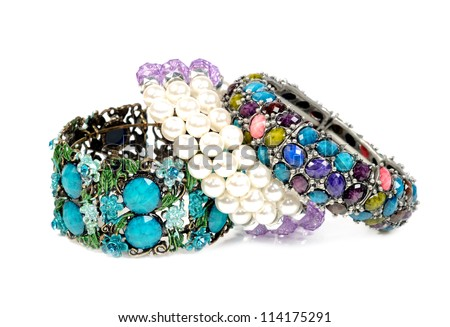 Bracelets - stock photo