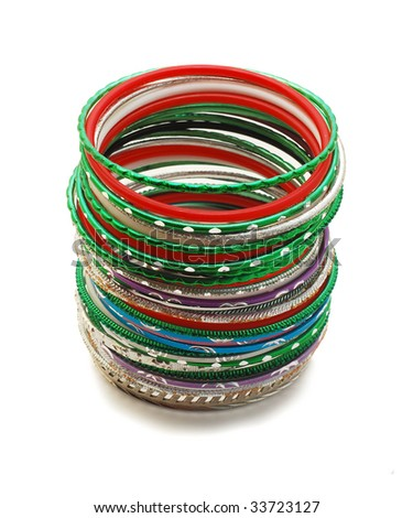 bracelets isolated
