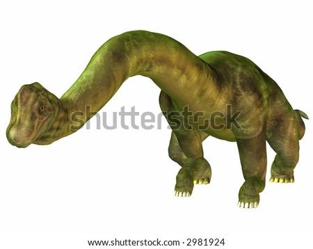 Brachiosaurus-Bow - stock photo