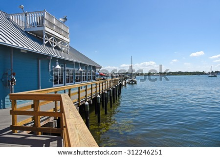 Anna maria island stock images royalty free images for Anna maria island fishing pier