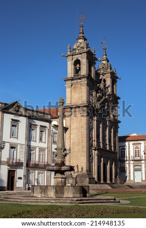 Braga  is a city and a municipality in the northwestern Portuguese district of Braga.