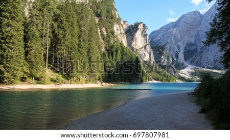 Braies Lake - Dolomites
