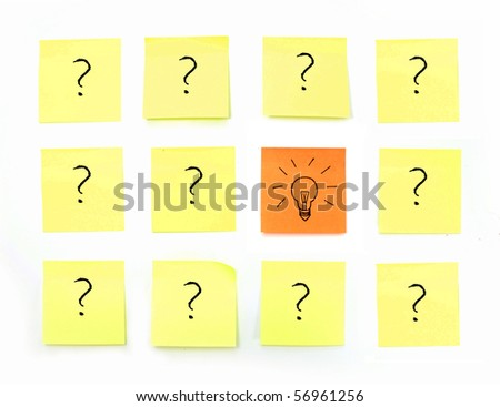 Brainstorming - stock photo