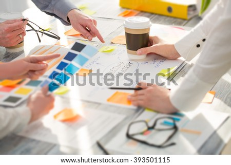 Brainstorming Brainstorm Business People Design Planning - stock photo