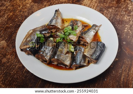 Braised fish in soy sauce - A Popular Taiwan food