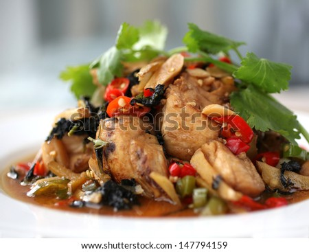 Braised Fish of Chinese cuisine