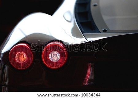 Brake Light - stock photo