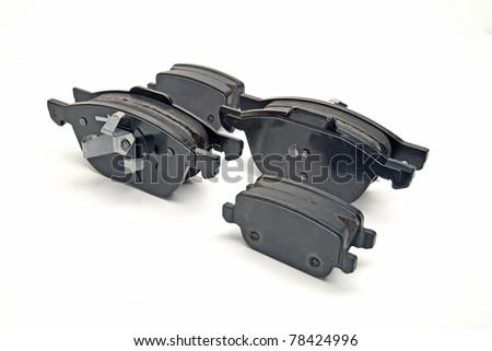 brake pads - stock photo
