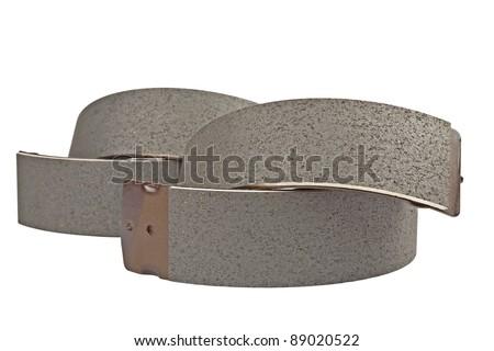 brake shoe - stock photo