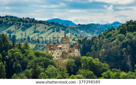 Bran Castle - Count Dracula's Castle, Romania,the mythic place from where the legend of dracula emerged.