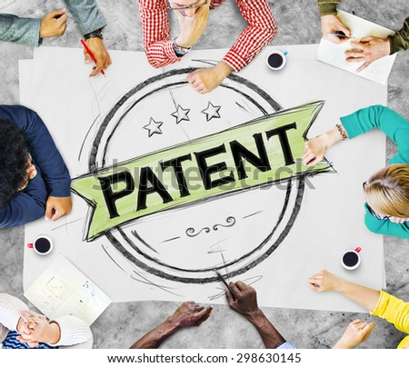 Brand Branding Patent Product Value Concept - stock photo