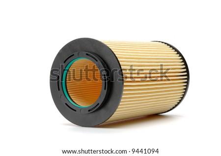Brand new automotive oil filter cartridge - stock photo