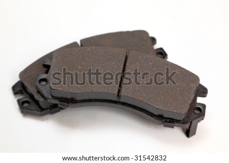 Brand New Ceramic disc Brake pads - stock photo