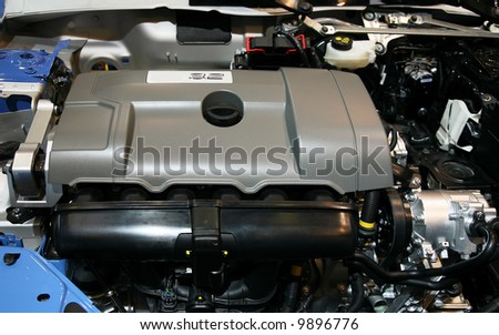 Brand new pure automobile internal-combustion engine