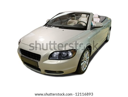Brand New Shiny Convertible Sports Car