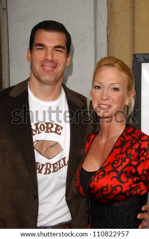 "Brandon Molale and Kim Wolfe at the Los Angeles premiere ""Balls Of Fury"". The Egyptian Theatre, Hollywood, CA. 08-25-07"