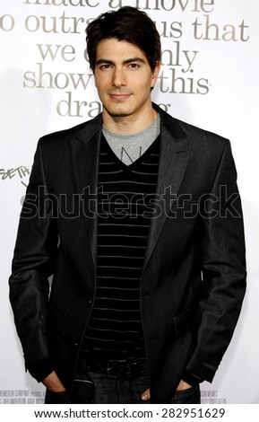 Brandon Routh at the Los Angeles premiere of 'Zack And Miri Make A Porno' held at the Grauman's Chinese Theater in Hollywood on October 20, 2008. - stock photo