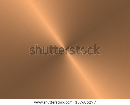 brass metal background - stock photo