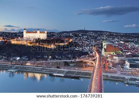 Bratislava, Slovakia. Image of Bratislava, the capital city of Slovakia. - stock photo