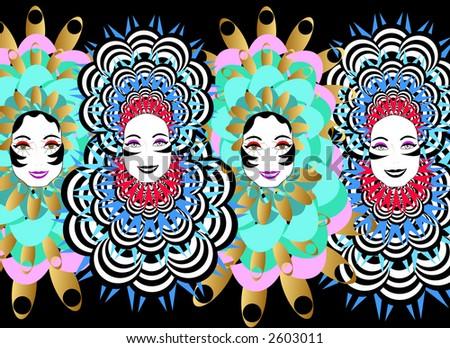 Brazil Carnival 1 - stock photo