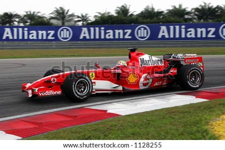 Brazil Formula One driver Felipe Massa of Scuderia Ferrari Marlboro Team, 2006 - stock photo