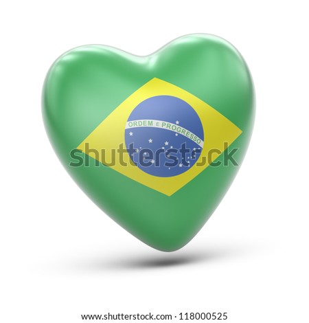 brazil  Full collection of icons like that is in my portfolio - stock photo