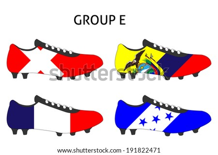 Brazil Group E - stock photo